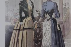 12.Zwei elegante Gebieterinnen
